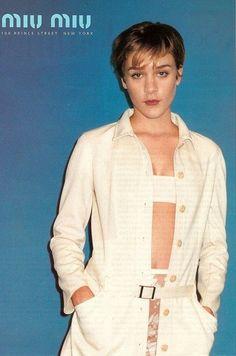 Chloe Sevigny for Miu Miu SS 1996