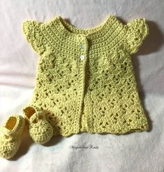 Crochet Baby, Knit Crochet, Sweater Hat, Summer Sweaters, Lace Collar, Handmade Baby, Mother Day Gifts, Infant, Crochet Patterns