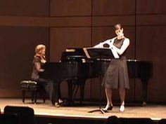 Aaron Copland Duo for Flute and Piano mvt 1
