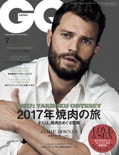 """5月24日(水)発売の『GQ JAPAN』7月号は、映画『フィフティ・シェイズ・ダーカー』主演俳優のジェイミー・ドーナンが表紙。今回は「2017年焼肉の旅」と題して日本と韓国の焼肉事情を大特集! さらに""""ミレニアル世代""""の青春白書では、若者500人にリサーチして彼らのLOVE & SEX観に迫った。"""
