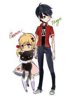 Adrien and marinette child