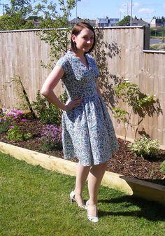 Liberty #vintagepledge tea dress!