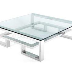 Royal Furniture, Iron Furniture, Steel Furniture, Home Decor Furniture, Furniture Design, Coffee Table Metal Frame, Coffe Table, Tea Table Design, Glass End Tables