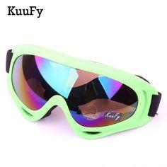 KuuFy Outdoor Sports Adult Professional snow Windproof X400 UV Protection Ski Glasses Snowboard Skate Skiing Goggles