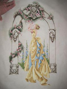 Rose of Sharon. Started September 2010. Finished June 12, 2011.