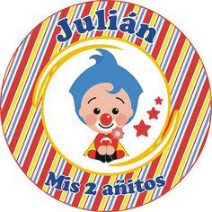 Plim Plim - Página web de diseñokitdecumpleaños 1st Birthday Parties, First Birthdays, Party Time, Baby Shower, Anime, Ideas, Guys Birthday Parties, Circus Birthday Invitations, Circus Party Decorations