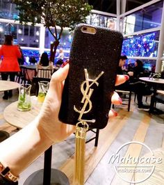 ysl iphone7ケース キラキラ Iphone 8 Plus, Iphone 7, Iphone Cases, Coque Iphone, Phone Covers, Girly, Bling, Bags, Accessories