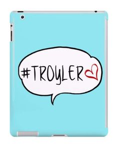 Our Troyler YouTuber iPad Case is available online now for just £9.99.    Fan of YouTubers Troye Sivan & Tyler Oakley? You'll love our Tryoler iPad case!    Material: Plastic, Production Method: Printed, Authenticity: Unofficial, Weight: 60g, Thickness: 12mm, Colour Sides: White, Compatible With: iPad 2 | iPad 3 | iPad 4 | iPad Air | iPad Mini | iPad Mini 2, Features: Slim fitting one-piece clip-on case that allows full access to all device ports. This iPad case is extremely durable, shatter