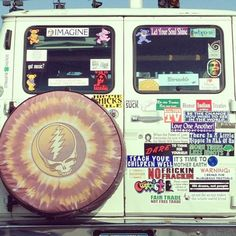 This is exactly what my road trip hippie van will look like. It's going to happen