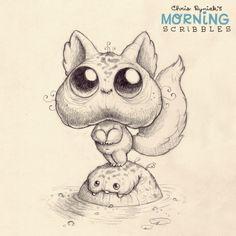 Morning+Scribbles+#222