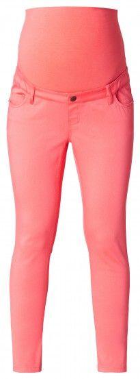 Дамски  панталон за бременни-слим фит ESPRIT MATERNITY - корал