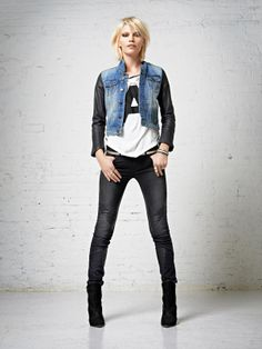 Amsterdams Blauw FW2013 Denim Collection by Maison Scotch.