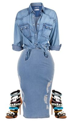 clothes for women,casual outfits,base layer clothing,casual outfits Curvy Fashion, Denim Fashion, Look Fashion, Plus Size Fashion, Autumn Fashion, Girl Fashion, Fashion Outfits, Womens Fashion, Fashion Heels