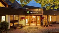 Eingangsbereich des H+ Hotel Willingen im Sauerland