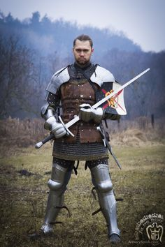 Medieval Weapons, Medieval Life, Medieval Knight, Medieval Fantasy, Armor Clothing, Medieval Clothing, Larp, Character Inspiration, Character Art
