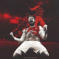 Olivier #Giroud #Arsenal Arsenal Fc, Giroud Arsenal, Arsenal Wallpapers, Football Wallpaper, Captain America, Spiderman, Darth Vader, Superhero, Photo And Video