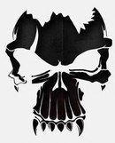 airbrush stencils in Systems & Sets Skull Tattoo Design, Skull Tattoos, Body Art Tattoos, Tattoo Designs, Biker Tattoos, Stencils, Stencil Templates, Skull Stencil, Stencil Art