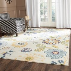 Safavieh Evoke Cream/ Gold Rug (8' x 10')