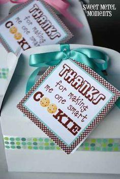 Teacher gift - Smart Cookie