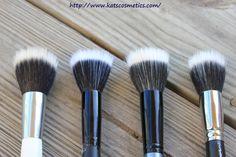 MAC 187 Duo Fibre Brush dupes :  - Sonia Kashuk Highlighting Brush - E.L.F. Stipple Brush - Face Secrets Bronzer Brush - MAC 187 Duo Fibre Brush -