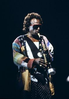 Miles Davis at the North Sea Jazz Festival in The Hague, 1988