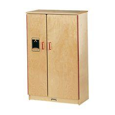 0210SA Jonti-Craft¨ School Age Birch Refrigerator