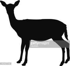 animal doe vector art - Google Search