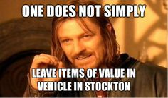 one does not simply........