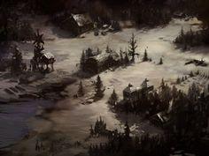 Icewind Dale Village by vermaden.deviantart.com on @deviantART