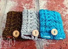 """Gift Card """"cozies"""" but might become an iPhone holder or a sachet, or....."""
