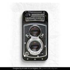 iPhone 4 case iPhone 4s case - Vintage Camera iphone Case. $16.99, via Etsy.