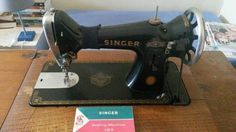 Singer 193 on a treadle. Unusual model.