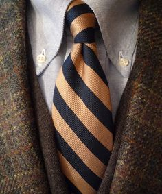 heavytweedjacket: Shetland Sunday. J. Press tweed jacket Mercer & Sons OCBD Brooks Brothers merino vest and a very old JAB tie from younger days. Staying warm.