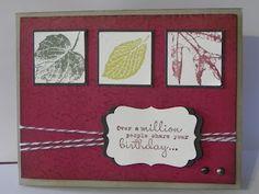 Cindy's Creative Blog French Foliage card