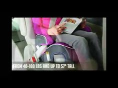 Graco Backless Turbobooster Car Seat, Pixie Review