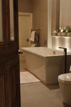 Annabelle Holland Design - House & Garden, The List Bathroom Lighting Inspiration, Corner Bathtub, Modern Bathroom, Holland, Bathing, Bathrooms, Home And Garden, House Design, London