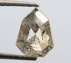 0.82 Ct, 6.6 X 5.1 X 2.8 MM, Geometric Shape Fancy Salt And Pepper Natural Loose Beautiful Diamond, Earth Mine Stone, Huge Collection, R861 by VishwaImpex on Etsy Uncut Diamond, Rough Diamond, Pepper Color, Champagne Color, Conflict Free Diamonds, Natural Diamonds, Geometric Shapes, Colored Diamonds, Ring Designs