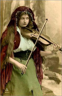 Vintage musiciens