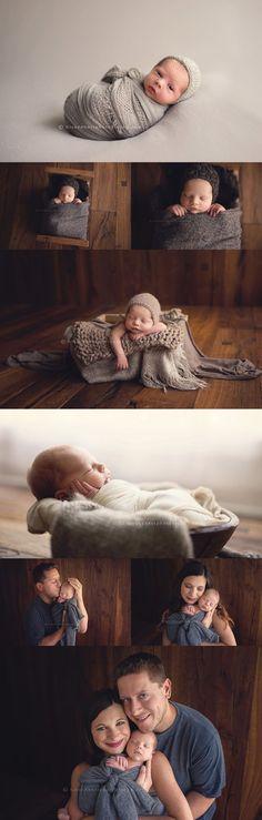 Des Moines, Iowa Photographer | newborn portraits, iowa newborn photography | His & Hers Photography #NewbornPhotography