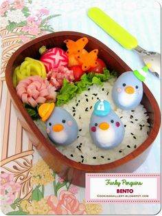 Cooking Gallery: Fungky Penguins Bento