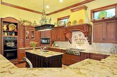 Kitchen, view 2 - 7,823 sq ft French country