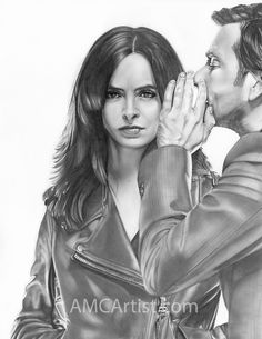 """Influence"" Jessica Jones - Kilgrave - by my sweet friend AMANDA M. CAGLE http://www.amcartist.com/"