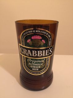 Crabbie's Ginger Beer Soy Wax Candle by LimeGreenTaxiShop on Etsy
