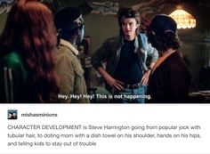 Steve Harrington's character development | Stranger Things 2