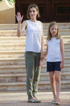 Photoshoot d'été au palais de Marivent