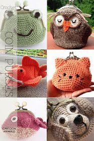 DiaryofaCreativeFanatic: Needlecrafts - Crochet Gifts, Coin Purses