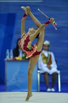 Ekaterina Ayupova (Russia), World Cup (Kazan) 2015 This pose would make an extraordinary custom pendant. Create your own at https://crescentmoonjewelry.com/product/custom-pendant/