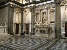 RINASCIMENTO 1400 - 1540 Michelangelo BUONARROTI - Sagrestia Nuova - Museo Cappelle Medicee Firenze (1520-1555)