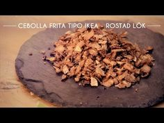 Cebolla frita tipo Ikea (ROSTAD LÖK) | Cocina