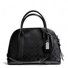 Coach :: BLEECKER PRESTON SATCHEL IN SIGNATURE FABRIC